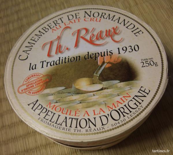 Camembert AOC au lait cru