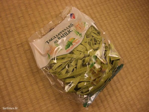 Emballage des pâtes fraîches Leader Price