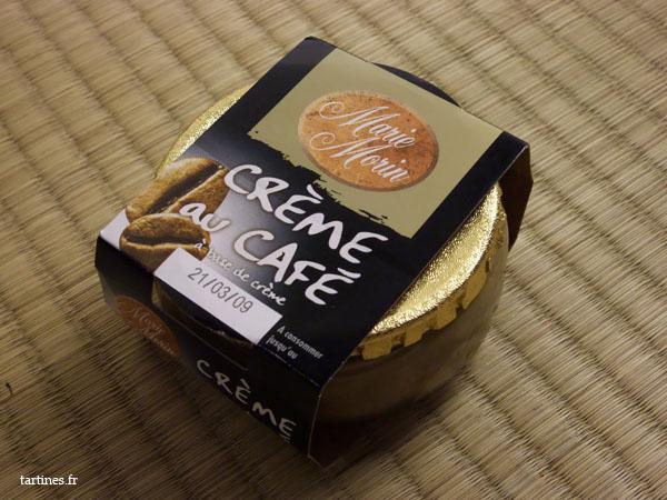 Crème au café Marie Morin