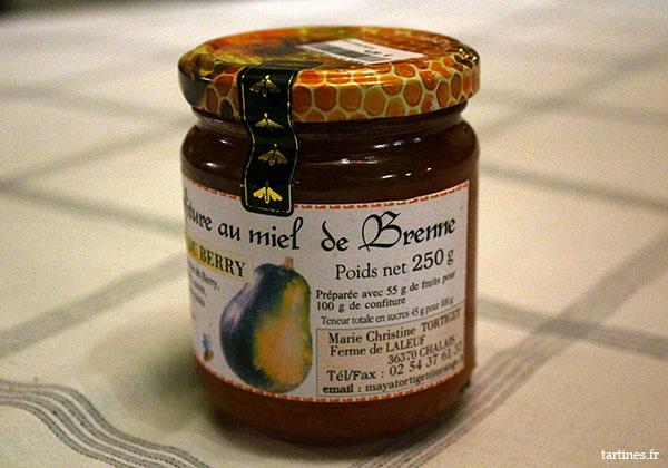 Confiture au miel de Brenne
