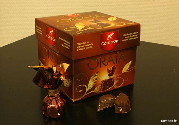 Boite de chocolats Oraïa
