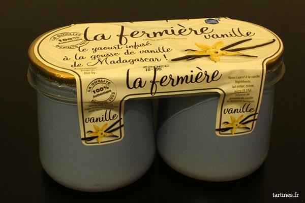 Yaourts à la vanille La Fermière
