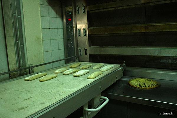 La pâte est prête pour aller au four