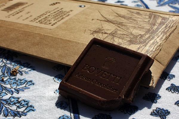 Carré de chocolat au lait Bovetti