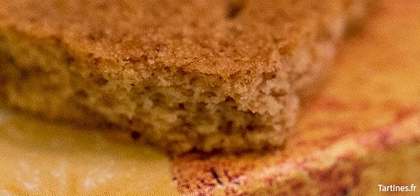 Gros plan sur le biscuit