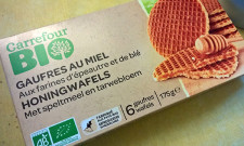 Gaufres au miel bio Carrefour