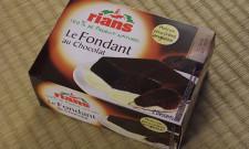 Le fondant au chocolat Rians